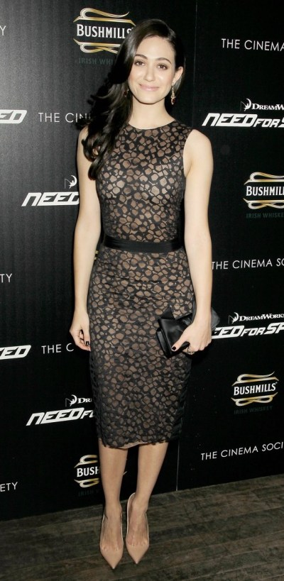 Emmy Rossum - 'Need for Speed' in New York City!